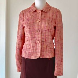 2 piece business suit with included brown skirt.